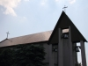 Nowy krzyż na dachu kościoła